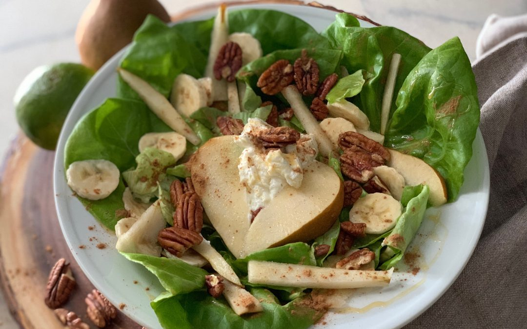 Mellow Yellow Breakfast Salad